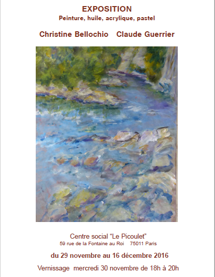 Exposition de Christine Bellochio et Claude Guerrier