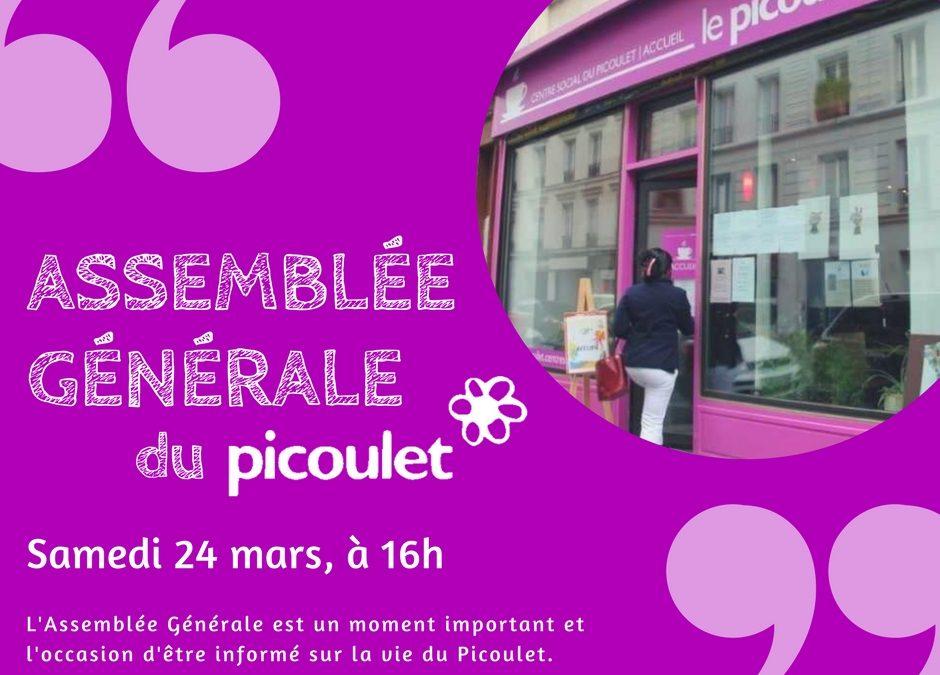Assemblée Générale du Picoulet – Samedi 24 Mars à 16h