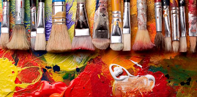 Exposition de peinture à l'huile