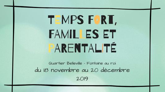 Mois de la Famille et de la Parentalité 2019
