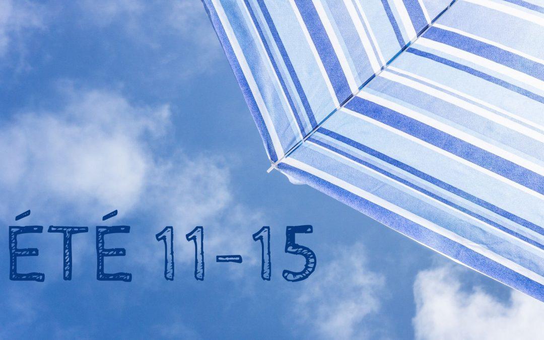 Activités 11-15